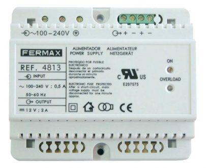 Alimentador DIN6 240Vac 12Vdc 2A Fermax 4813
