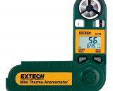 Anemómetro compacto humedad Extech 45158