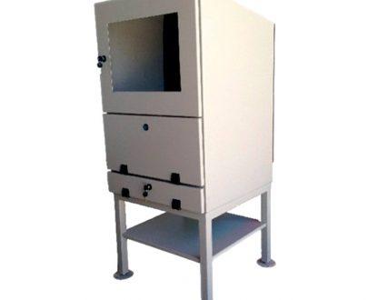 Armario rack especial PC 3 compartimentos