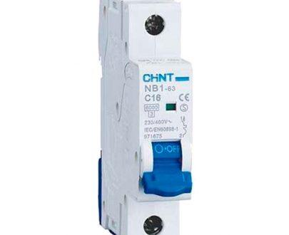 Automático magnetotérmico 1P curva C Chint