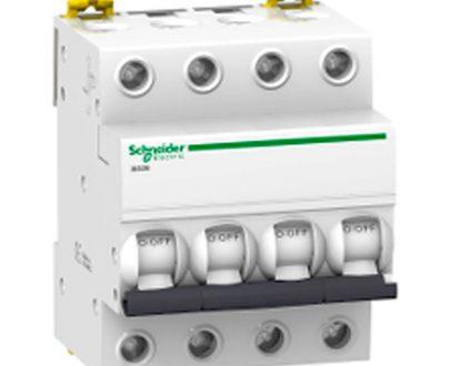 Automático magnetotérmico trifásico 3P+N Schneider Electric