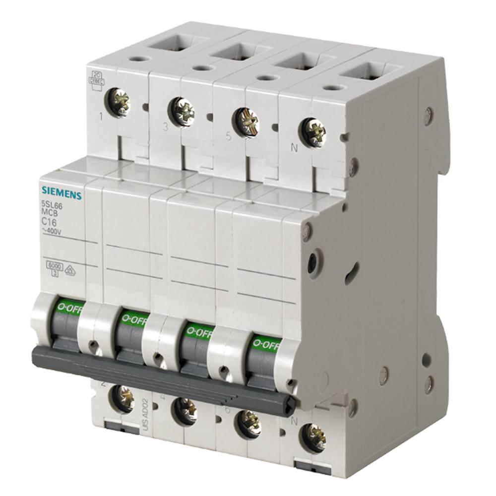 Automático magnetotérmico trifásico 3P+N Siemens