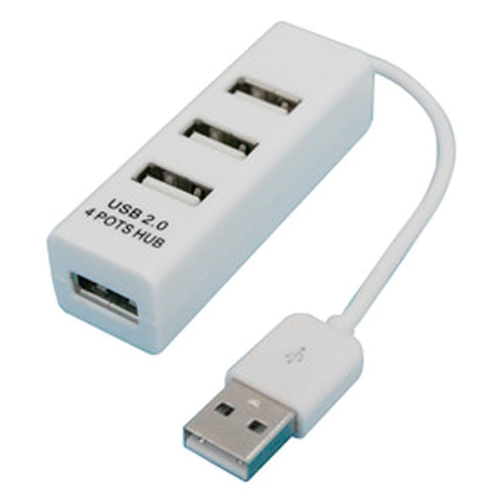 Base USB con 4 salidas