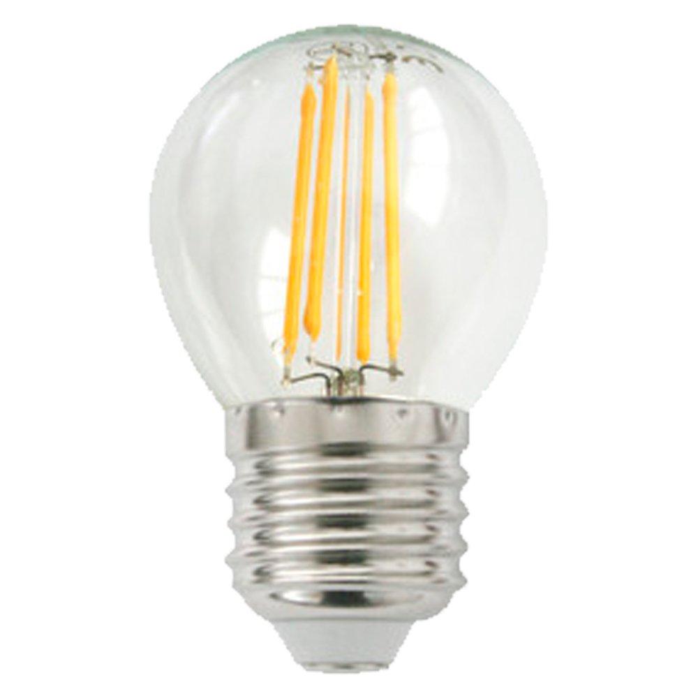 Bombilla led esférica filamento E27
