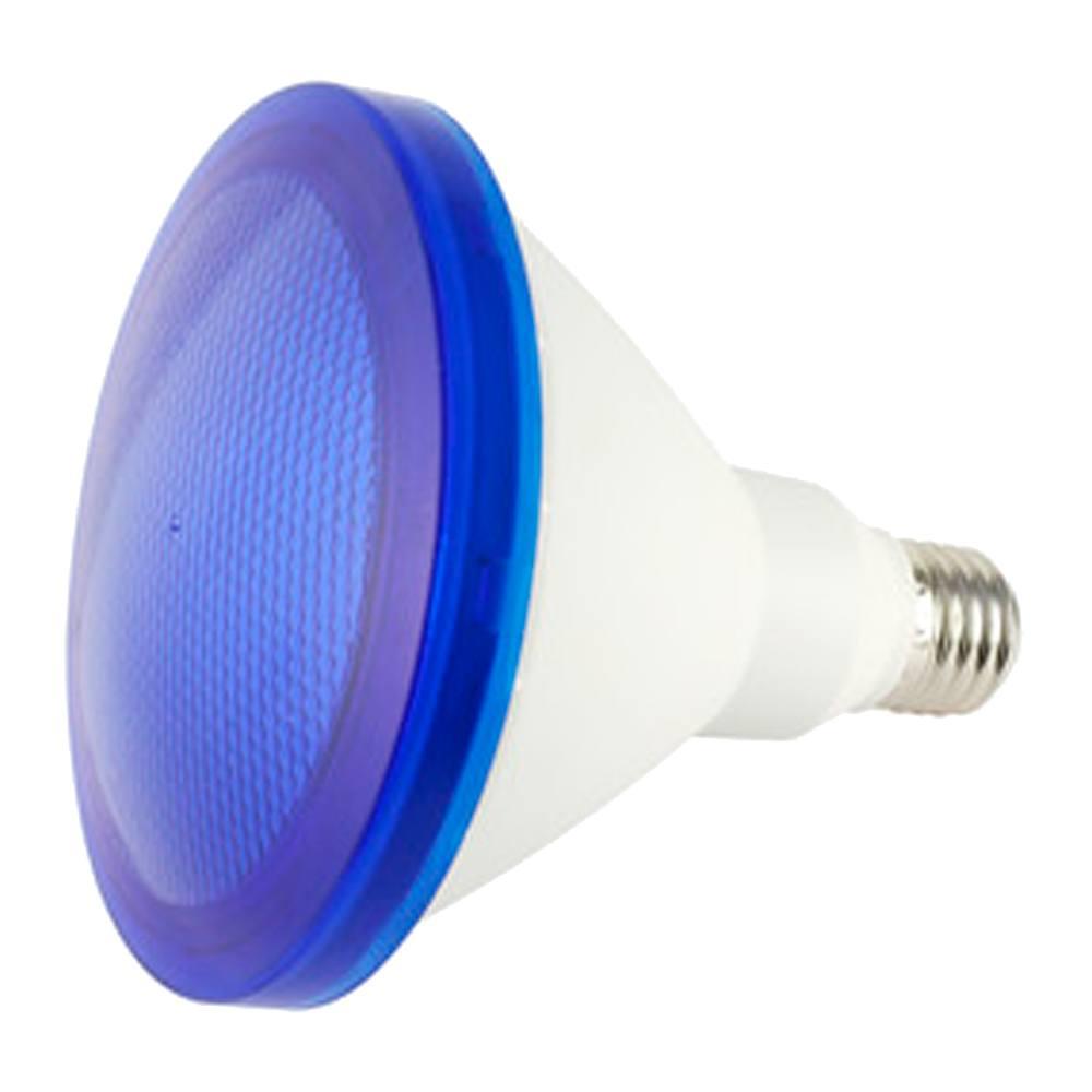 Bombilla led PAR38 E27 azul