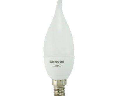 Bombilla led vela flama E14