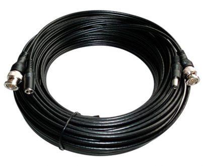 Cable combinado RG59 + DC con conectores BNC