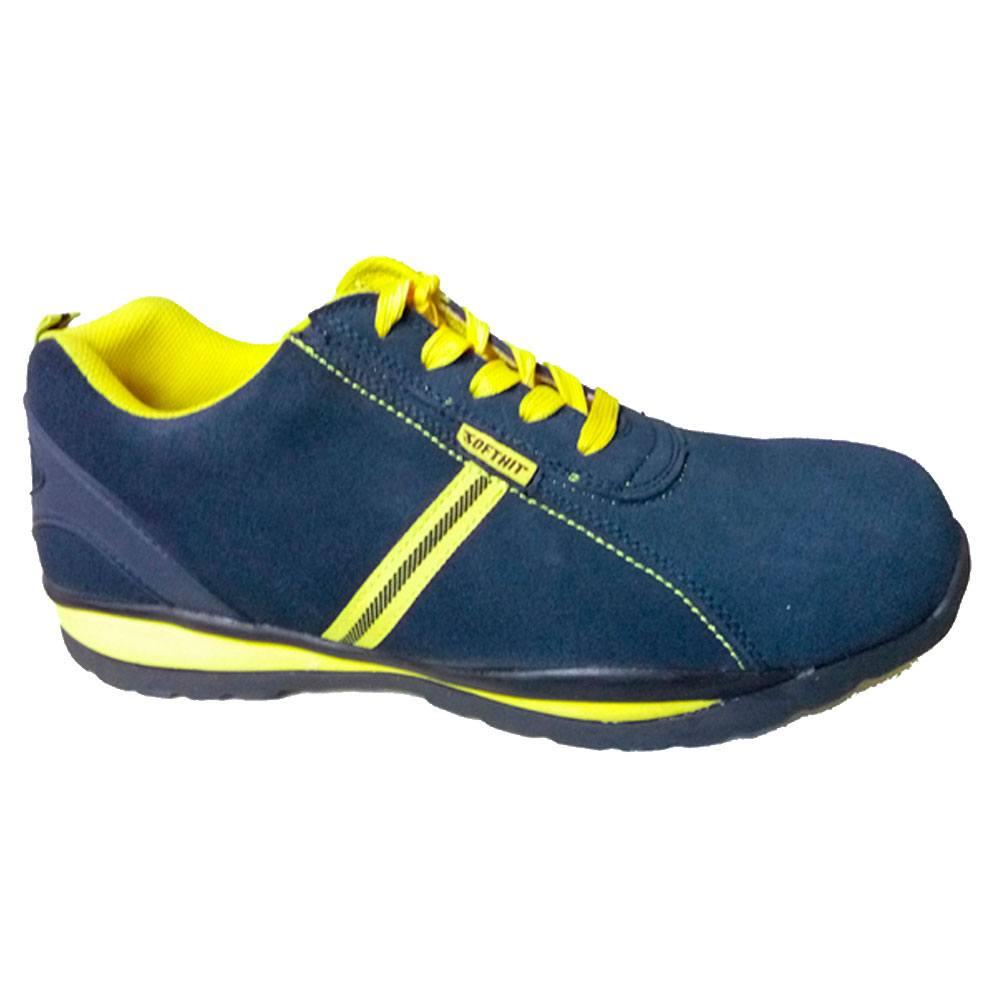 Calzado seguridad invierno color azul