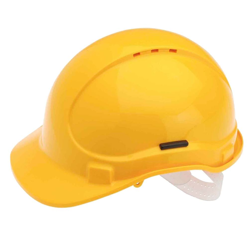 Casco seguridad amarillo