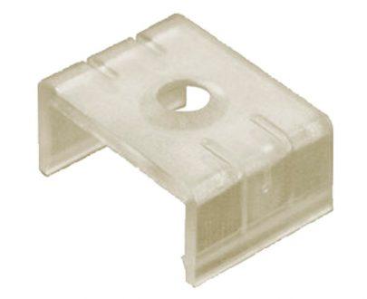 Clip sujección perfil aluminio recto para tira led