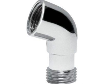 Codo de ducha para baños y aseos