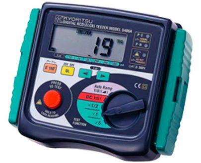 Comprobador diferenciales digital Kyoritsu 5406A