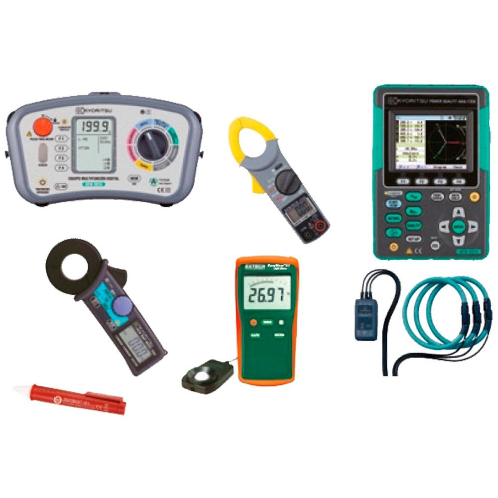 Conjunto instrumentos R.E.B.T. categoría especialista ETM361-11
