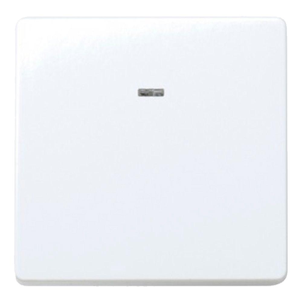 Conmutador luminoso blanco Simon 27