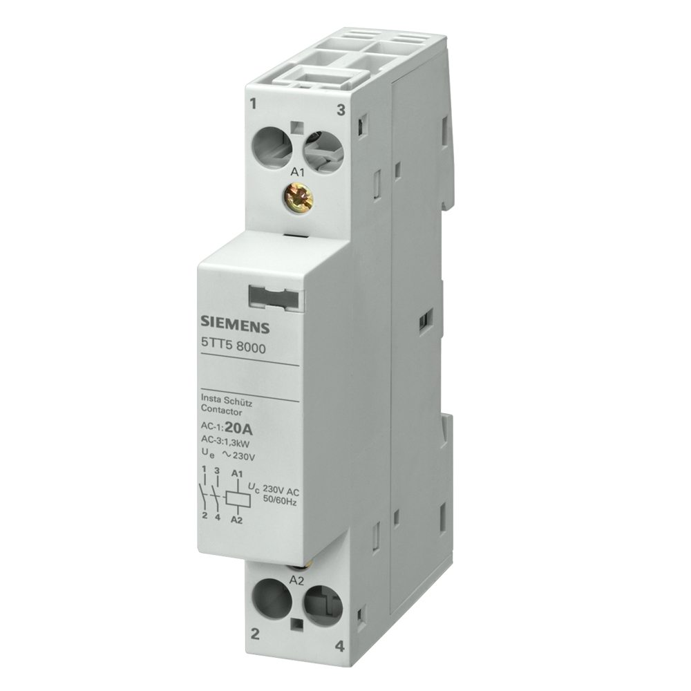 Contactor monofásico Siemens
