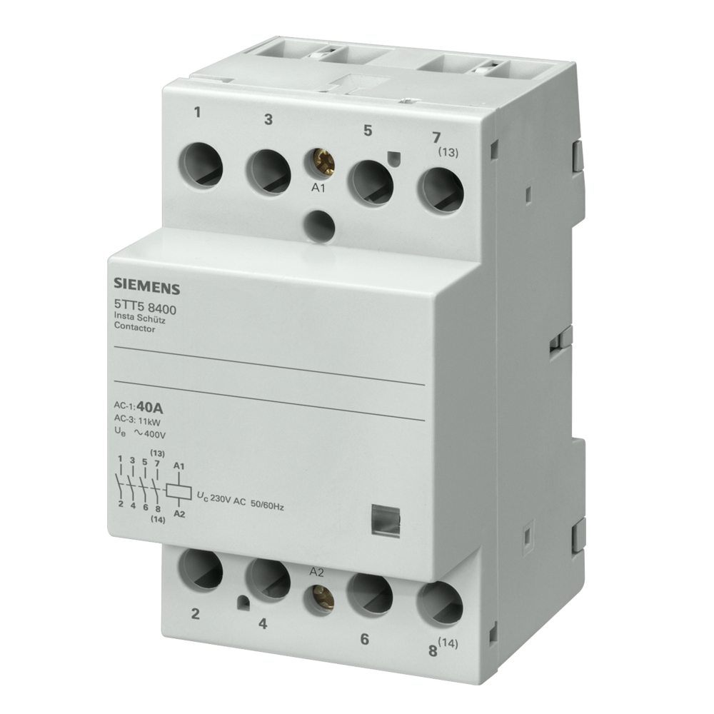 Contactor trifásico Siemens