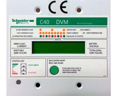 Display remoto reguladores solares Xantrex