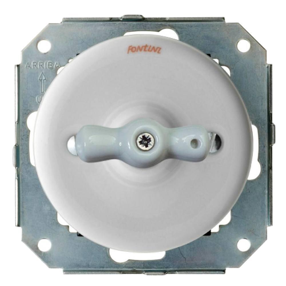 Doble pulsador rotativo Fontini Garby
