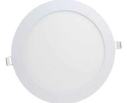 Downlight led redondo color blanco