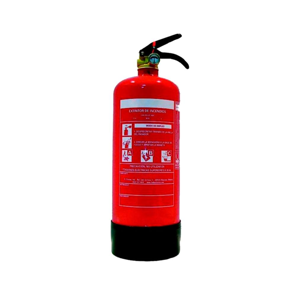 Extintor polvo PI-1 ABC 5A-21B-C 1kg
