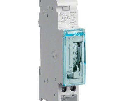 Interruptor horario analógico Hager EH011