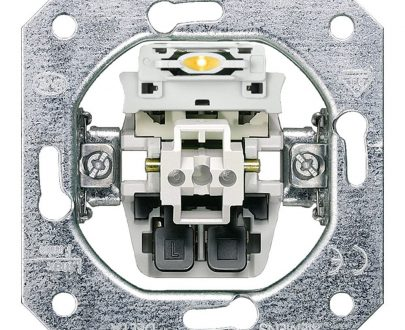 Interruptor con piloto Siemens Delta
