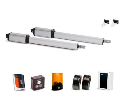 Kit puerta automática batiente Linear