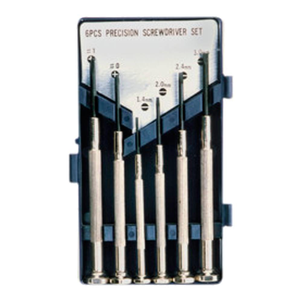 Kit 6 destornilladores precisión económico