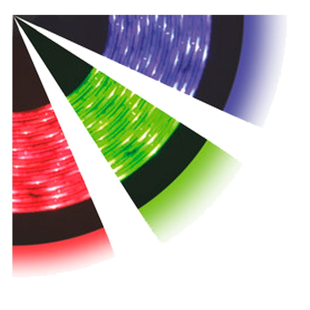 Kit tira led flexible estanca RGB con alimentador