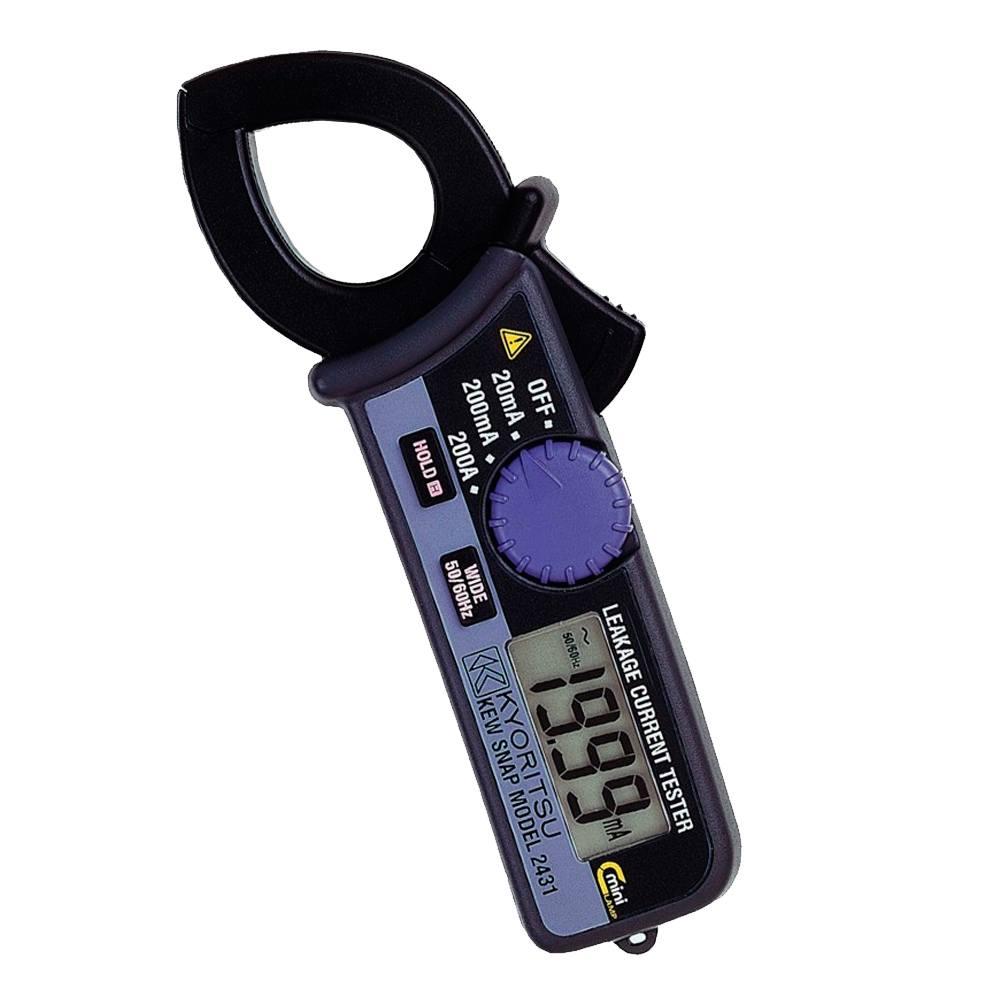 Localizador fugas digital 200mA 1000A Kyoritsu 2413R