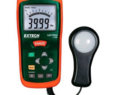 Luxómetro digital 200.000 lux Extech LT300