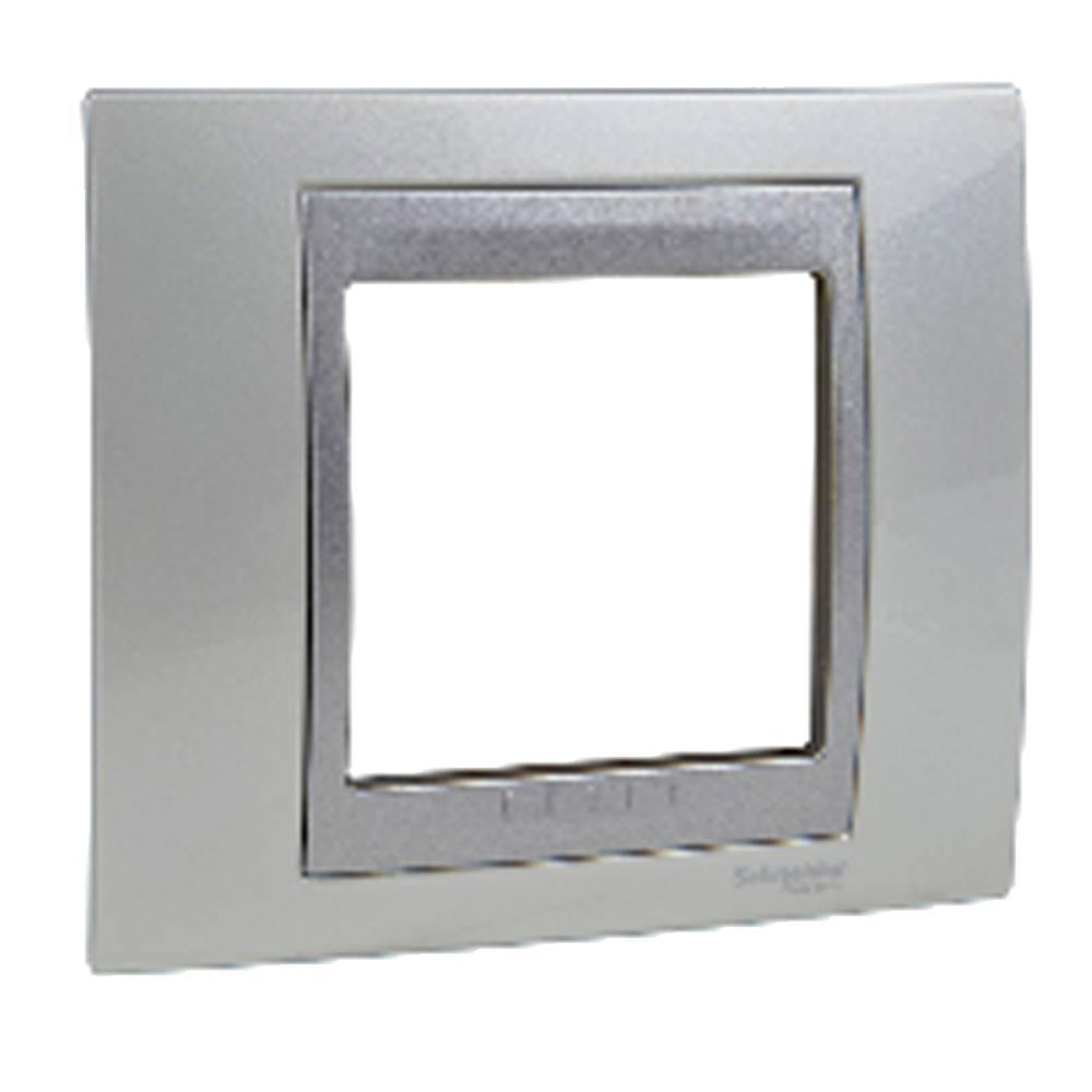 Marco blanco tecno aluminio Eunea Unica Top
