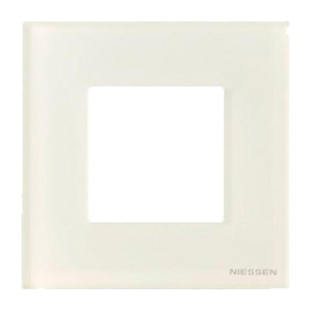 Marco cristal blanco Niessen Zenit
