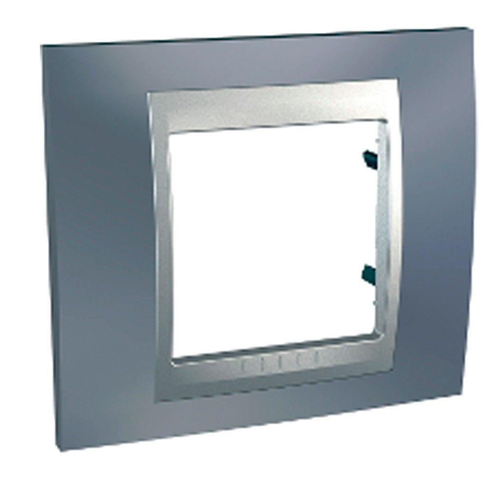 Marco gris metal aluminio Eunea Unica Top