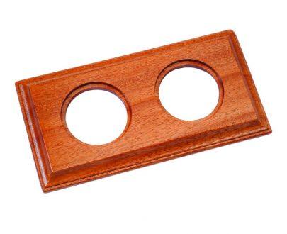 Marco madera sapelly Fontini Venezia Carre 2 elementos