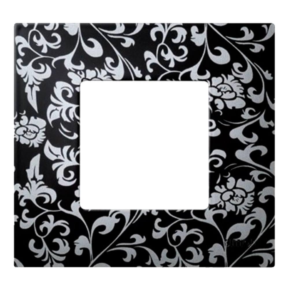 Marco vintage negro plata Simon 27 Play para 1, 2, 3 y 4 elementos
