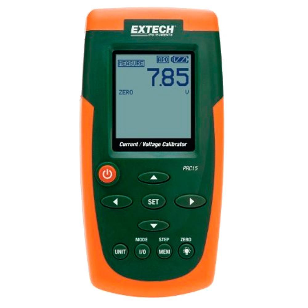 Medidor calibrador corriente voltaje Extech PRC15