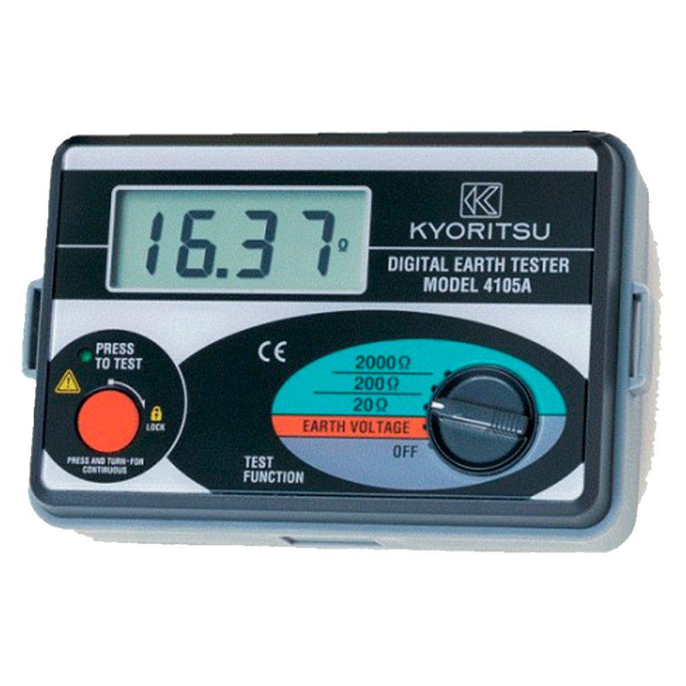 Medidor tierra digital Kyoritsu 4105A