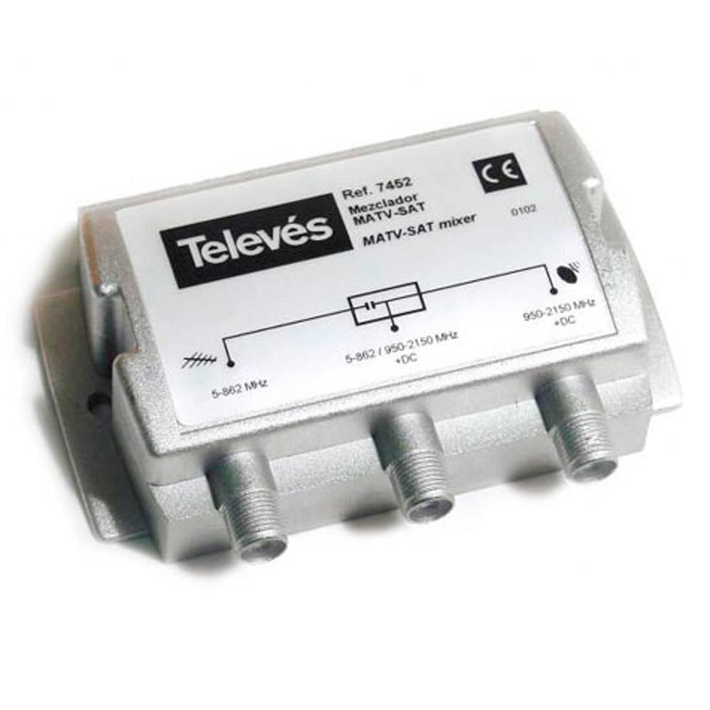 Mezclador satélite matv Televes
