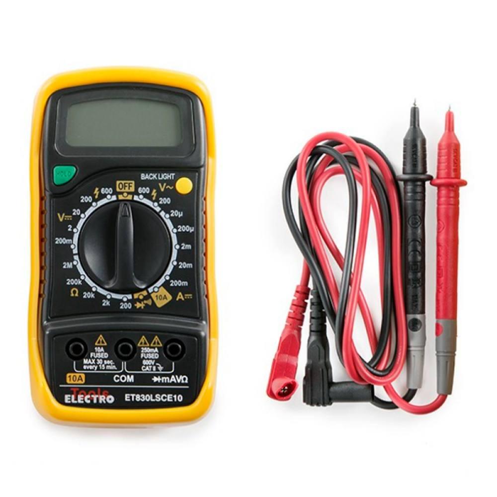 Multímetro digital Electro Tools ET830LSCE10