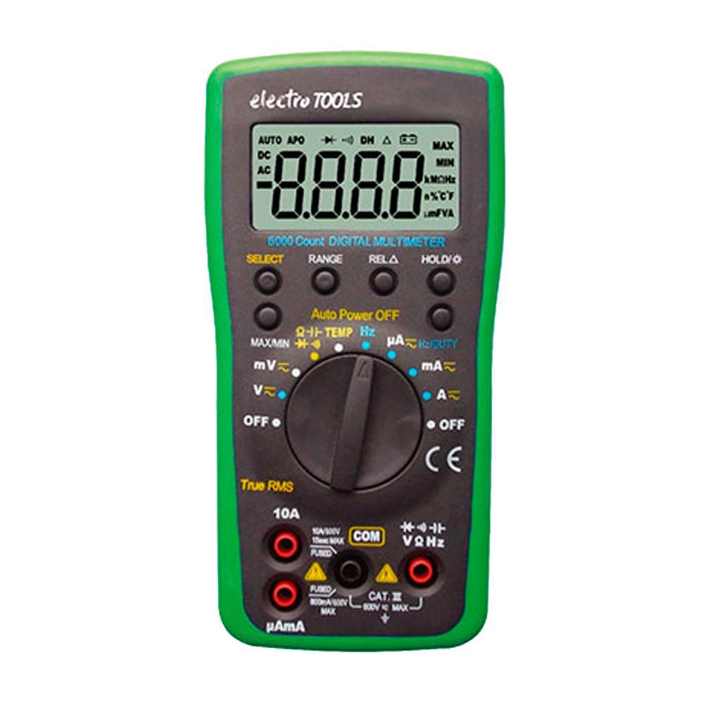 Multímetro digital Electro Tools ET84