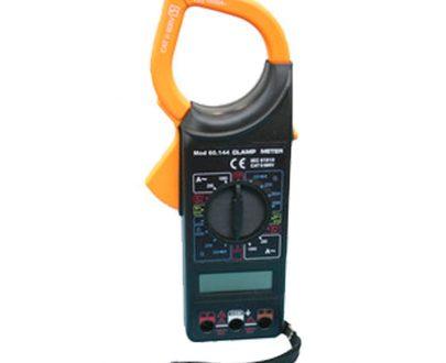 Multímetro digital con pinza amperimétrica