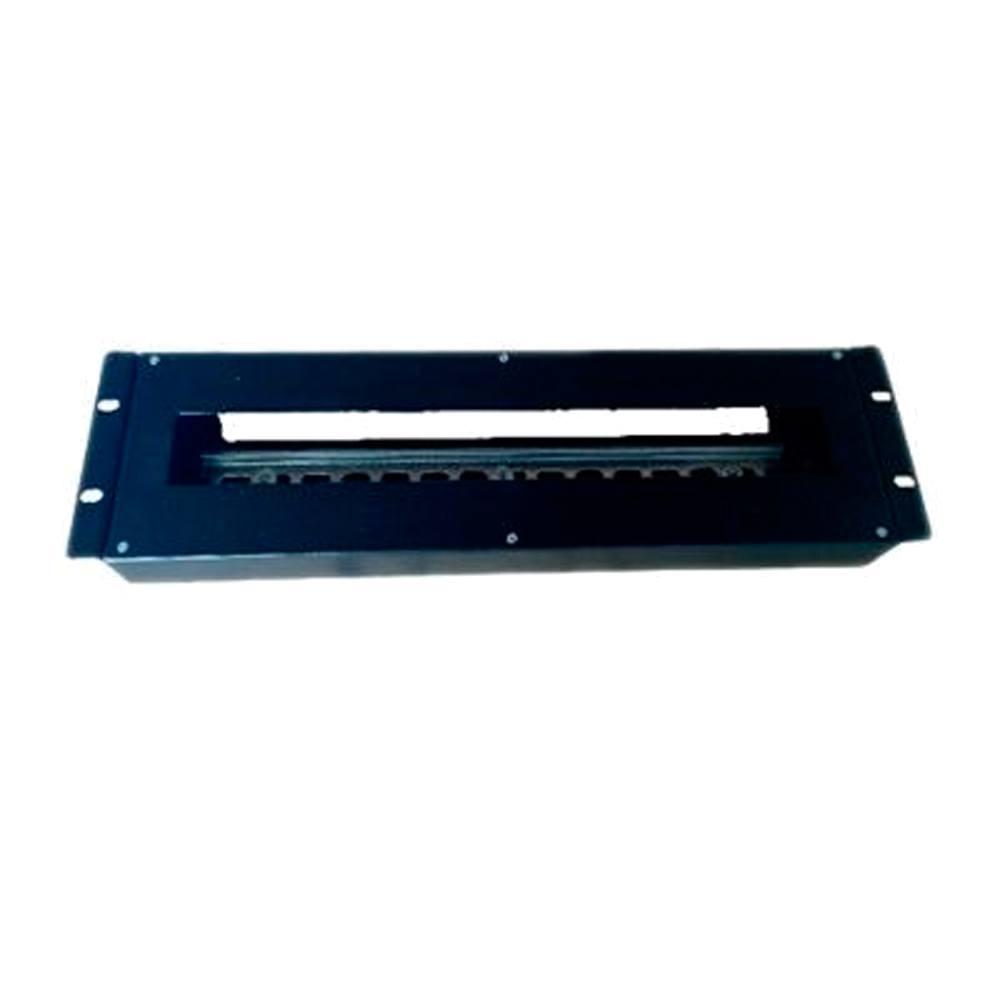 Panel 19 pulgadas carril DIN para magnetotérmico
