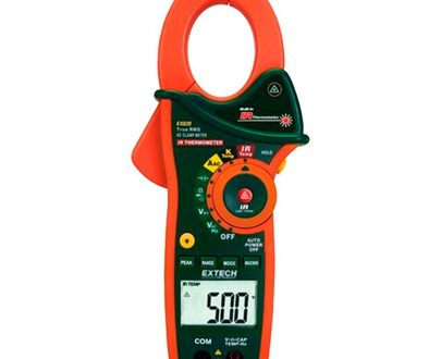 Pinza amperimétrica trms termómetro IR Extech EX830