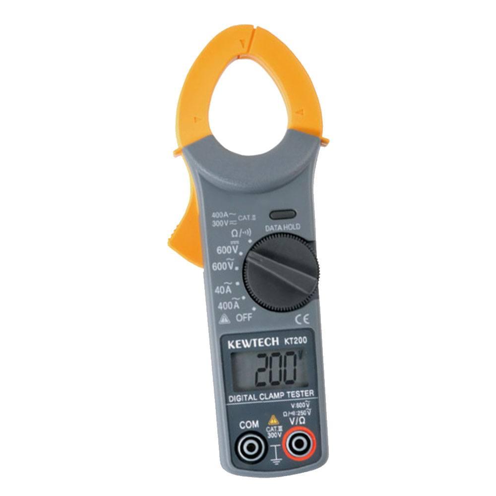 Pinza amperimétrica Kewtech KT200