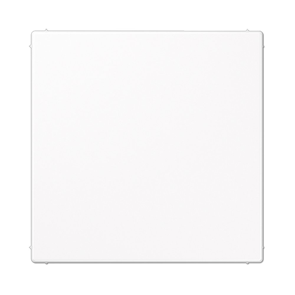 Placa ciega Jung LS 990 blanco alpino