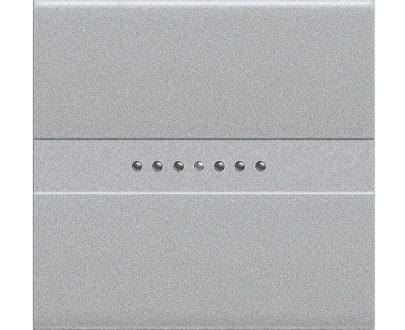 Pulsador axial Bticino Light Tech ancho
