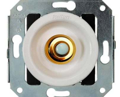 Pulsador boton oro Fontini Venezia