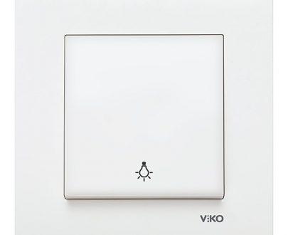 Pulsador campana Viko Karre blanco