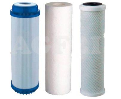 Recambio de filtros para ósmosis